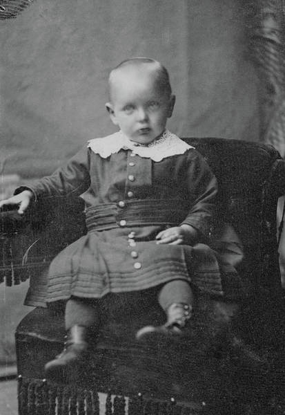 Photograph - Boy, C1890 by Granger