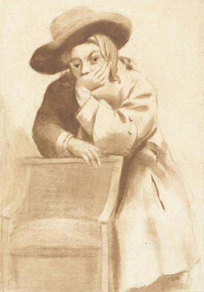 Wall Art - Drawing - Boy In Chair, Jurriaan Cootwijck, Gerbrand Van Den Eeckhout by Jurriaan Cootwijck And Gerbrand Van Den Eeckhout