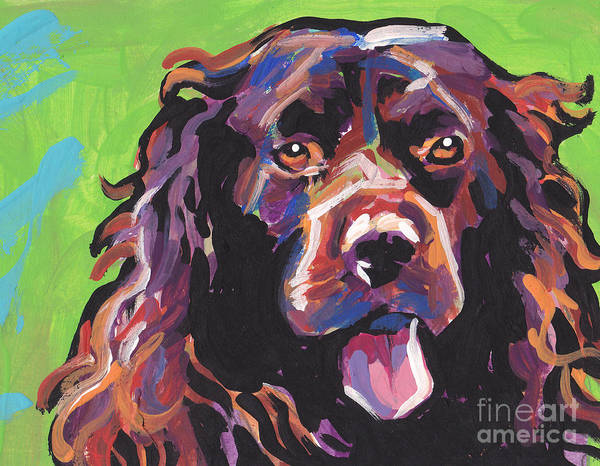 Spaniels Painting - Boy Oh Boy by Lea S