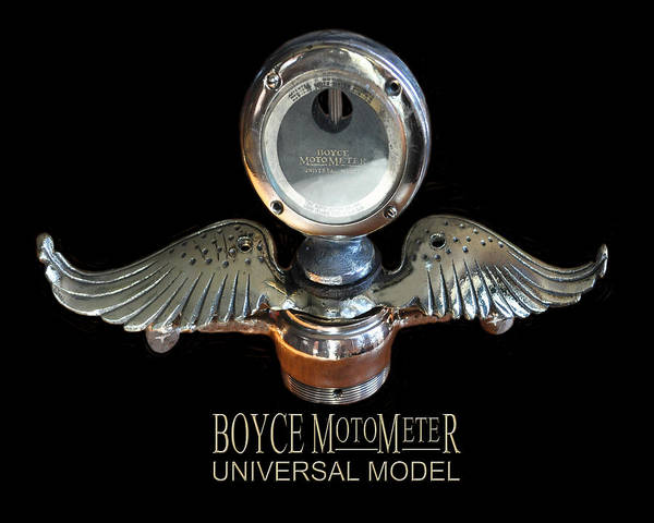 Become One Wall Art - Photograph - Boyce Motometer by Jack Pumphrey