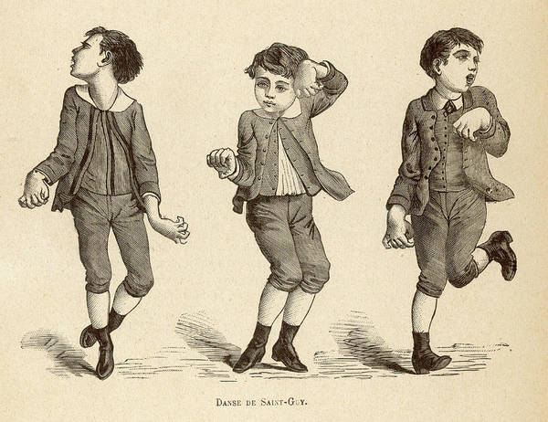 Paranormal Drawing - Boys Afflicted With Chorea,  Known by Mary Evans Picture Library
