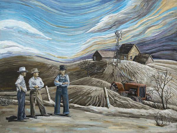 Wall Art - Painting - Boys My Money's All Gone by Paula McHugh