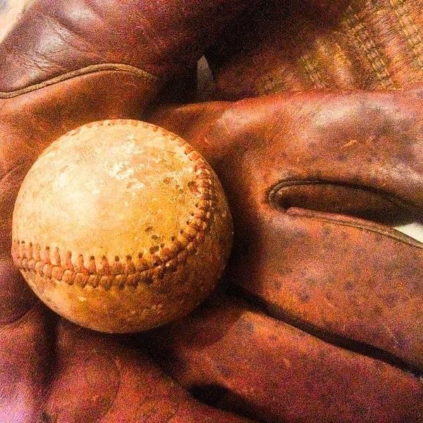 Baseball Wall Art - Photograph - Boys Of Summer Let The Games Begin by Scott Pellegrin