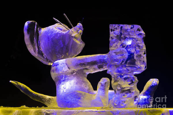 Ice Carving Photograph - Bp World Ice Art Championships by John Shaw