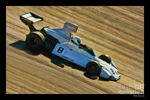 Photograph - Brabham Bt42 F1 Martini by Blake Richards