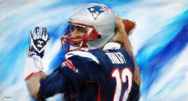 Painting - Brady by Lourry Legarde