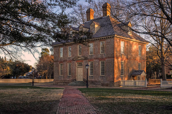 Photograph - Brafferton At William And Mary College by Jerry Gammon