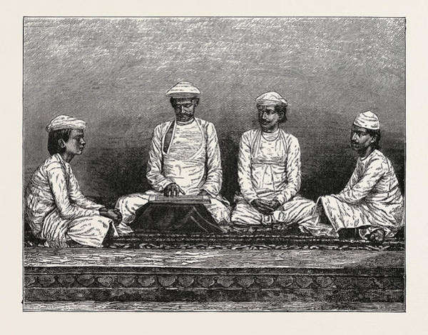 Hindu Drawing - Brahmins Of Bengal by Bangladeshi School