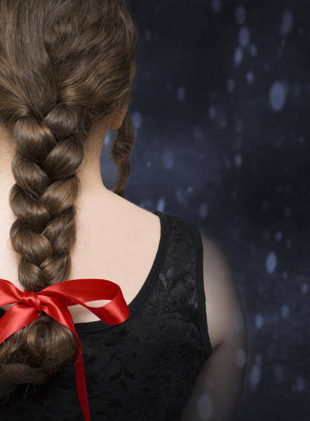 Braids Wall Art - Photograph - Braided Hair by Amanda Elwell