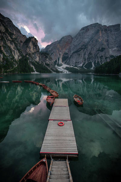 Wall Art - Photograph - Braies Reflections by Marco Tagliarino