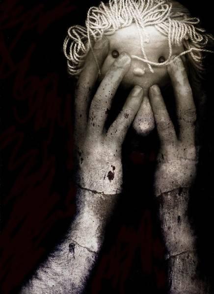 Anguish Photograph - Brain Fight by Johan Lilja