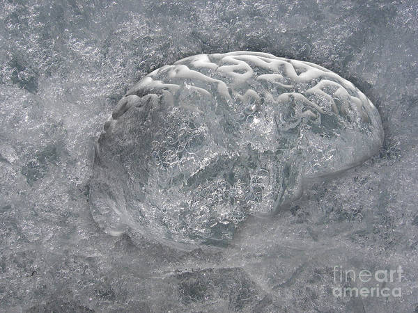 Brain Freeze Photograph - Brain Freeze by Mike Agliolo