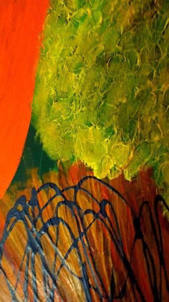 Brain Freeze Painting - Brain Freeze Poverty  by Paula Andrea Pyle