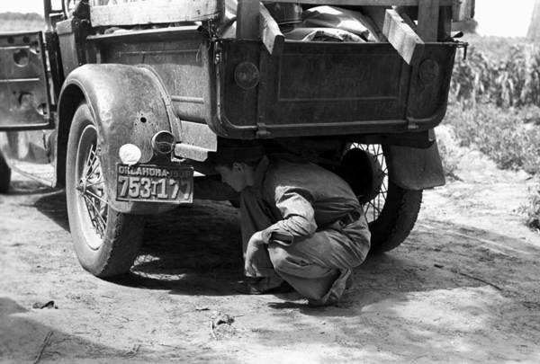 Muskogee Photograph - Brake Inspection, 1939 by Granger
