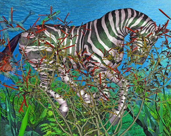 Seaweed Digital Art - Bramble  by Betsy Knapp