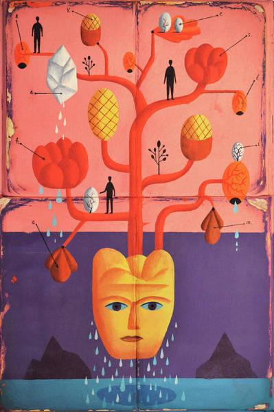 Phantasy Wall Art - Photograph - Branches Growing From Head by Ikon Ikon Images