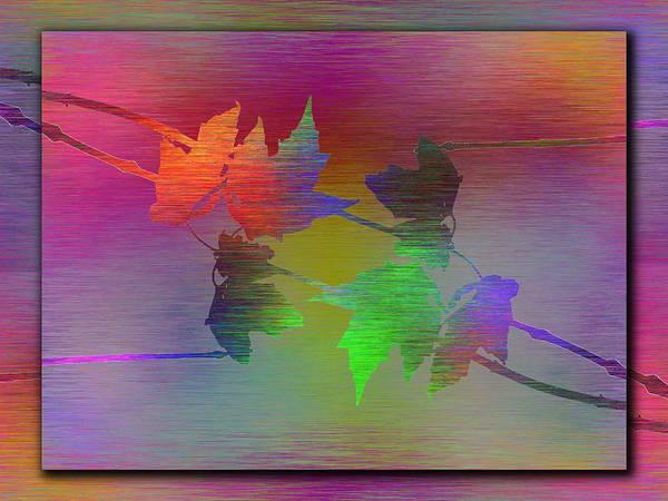Wall Art - Digital Art - Branches In The Mist 55 by Tim Allen