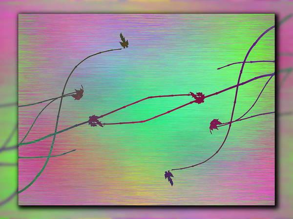 Wall Art - Digital Art - Branches In The Mist 63 by Tim Allen