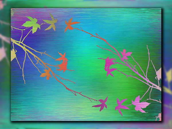 Wall Art - Digital Art - Branches In The Mist 64 by Tim Allen
