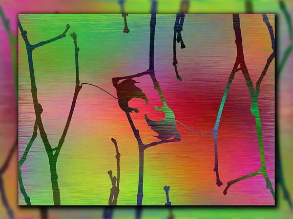 Wall Art - Digital Art - Branches In The Mist 68 by Tim Allen
