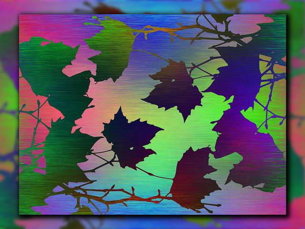 Wall Art - Digital Art - Branches In The Mist 70 by Tim Allen