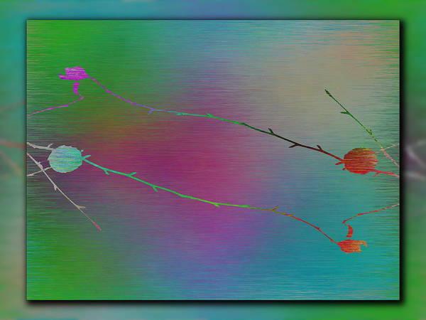 Wall Art - Digital Art - Branches In The Mist 73 by Tim Allen