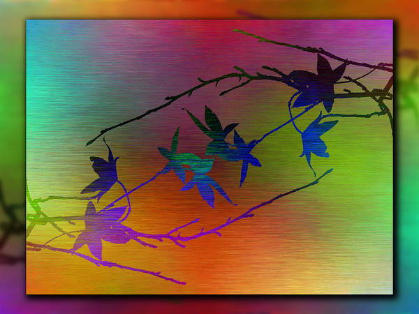 Wall Art - Digital Art - Branches In The Mist 80 by Tim Allen