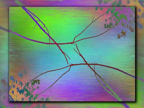Wall Art - Digital Art - Branches In The Mist 83 by Tim Allen