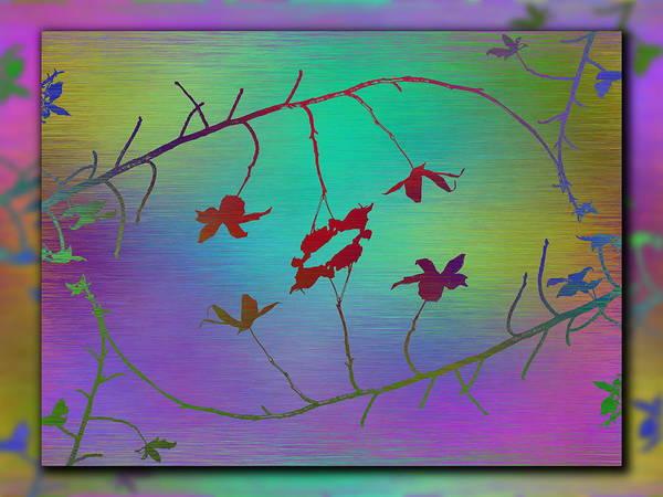 Wall Art - Digital Art - Branches In The Mist 84 by Tim Allen
