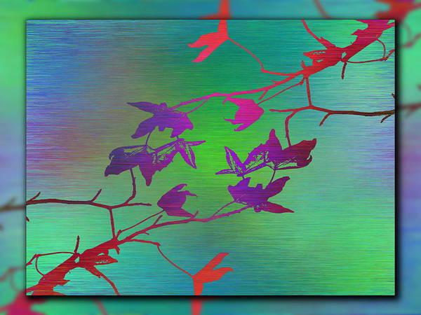 Wall Art - Digital Art - Branches In The Mist 85 by Tim Allen
