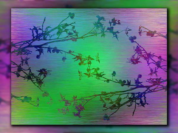 Wall Art - Digital Art - Branches In The Mist 86 by Tim Allen