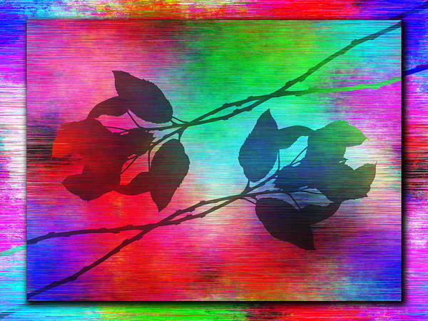 Lavender Mist Wall Art - Digital Art - Branches In The Mist 94 by Tim Allen