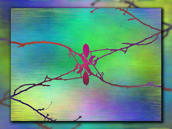 Wall Art - Digital Art - Branches In The Mist 95 by Tim Allen