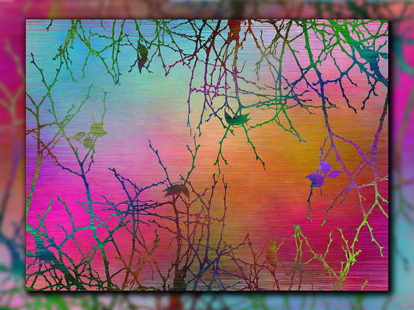 Wall Art - Digital Art - Branches In The Mist 99 by Tim Allen