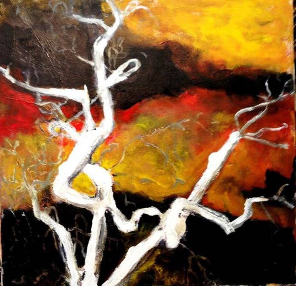 Painting - Branching Out by Dilip Sheth
