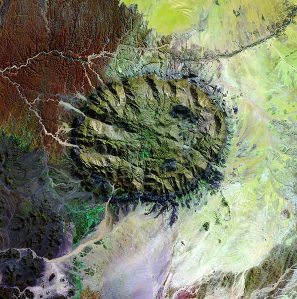 Wall Art - Photograph - Brandberg Massif by Nasa/science Photo Library