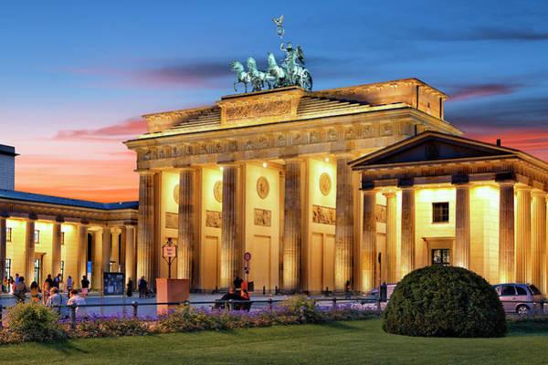 Brandenburg Gate Photograph - Brandenburg Gate by Visions Of Our Land