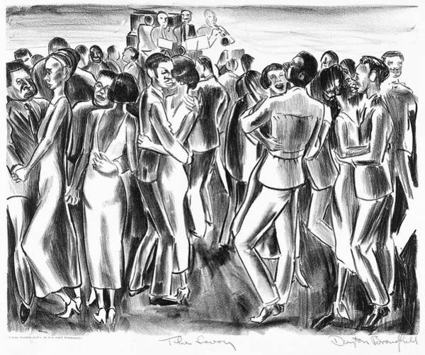African Dance Painting - Brandfield Savoy, C1940 by Granger