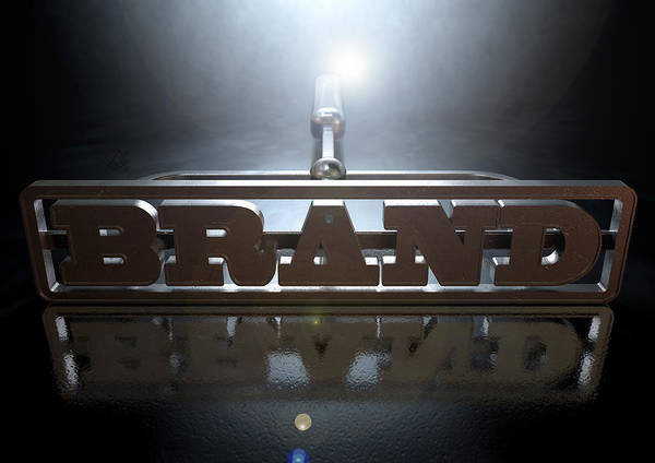 Burn Digital Art - Branding Brand Concept by Allan Swart