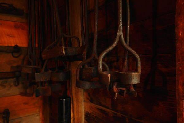 Branding Iron Photograph - Branding Irons by Jeff Swan