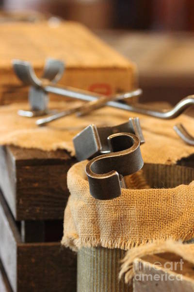 Branding Iron Photograph - Branding Irons by Laura Paine