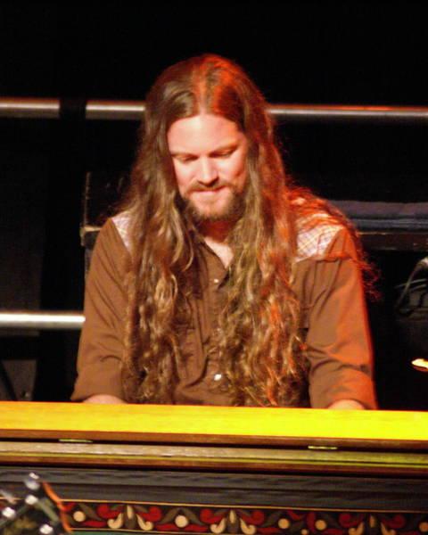 Photograph - Brandon On Keyboards 2013 by Ben Upham