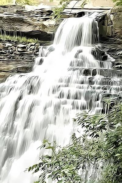 Photograph - Brandywine Falls by Jim Lepard