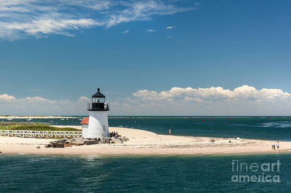 Brant Point Light Nantucket Art Print