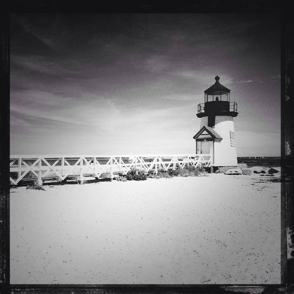 Photograph - Brant Point Lighthouse by Natasha Marco