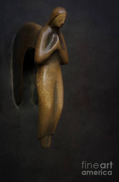 Photograph - Brass Angel by David Lichtneker