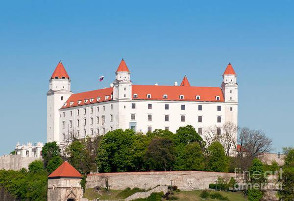 Photograph - Bratislava Castle by Les Palenik
