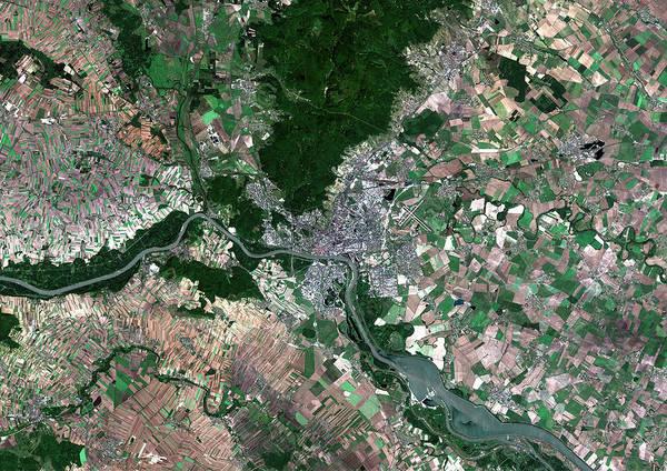 Bratislava Photograph - Bratislava by Planetobserver/science Photo Library