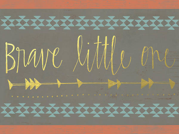 Kid Wall Art - Painting - Brave Little One by Katie Doucette