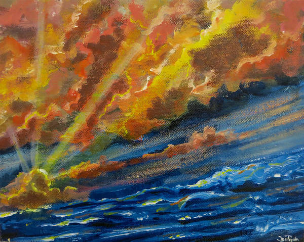 Painting - Brave New Morning by Joel Tesch